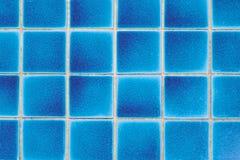 blåa tegelplattor arkivbild