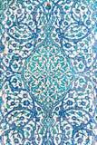blåa tegelplattor Arkivfoton