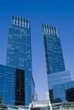 blåa torn Royaltyfri Fotografi