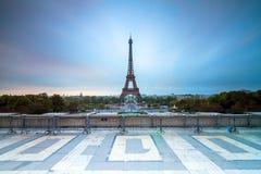 Blåa Trocadero Royaltyfri Bild
