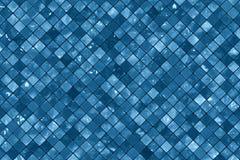 Blåa väggtegelplattor Royaltyfria Foton