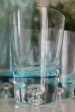 Blåa vatten-exponeringsglas Royaltyfria Foton