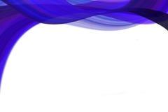 blåa waves royaltyfri illustrationer