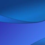 blåa waves Fotografering för Bildbyråer