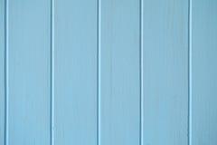 Blåa wood vertikala band Fotografering för Bildbyråer