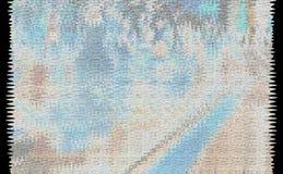 Blåaktig suddig bakgrund Arkivbilder