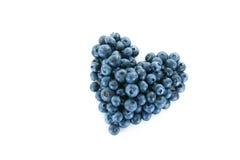 blåbärhjärta Royaltyfri Fotografi