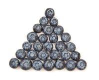 blåbärpyramid Arkivfoto