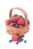blåbärsrawberries Royaltyfri Foto