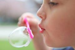 Blåsa bubblor Royaltyfri Foto