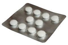 Blåsa med isolerade vitaminer Arkivfoton