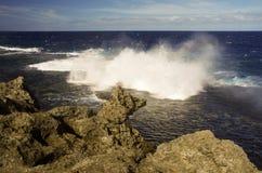 Blåshålen, Tonga Arkivfoton
