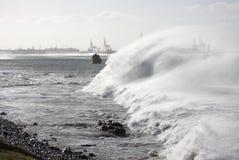blåsiga hav Royaltyfria Bilder