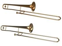 Blåsinstrument Royaltyfria Bilder