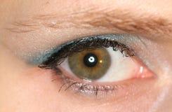 blått öga arkivbilder