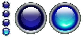 blått royaltyfri illustrationer