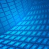 Blått-abstrakt begrepp Arkivbilder