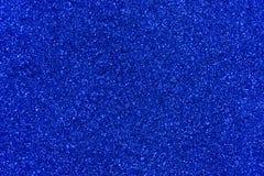 Blått blänker texturabstrakt begreppbakgrund Royaltyfria Bilder