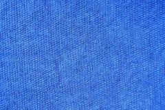 blått bomullstyg arkivfoton