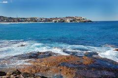 blått bondihav sydney för strand Royaltyfria Foton