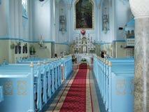 blått bratislava kapell Arkivfoto