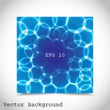 Blått bubblar Royaltyfria Bilder
