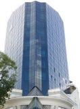 blått byggnadskontor Royaltyfri Bild