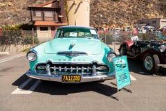 Blått DeSoto 1955 Coronado Arkivbild