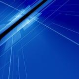 blått digitalt avstånd vektor illustrationer