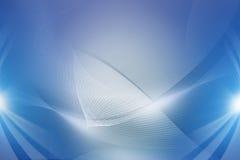 blått digitalt avstånd royaltyfri illustrationer
