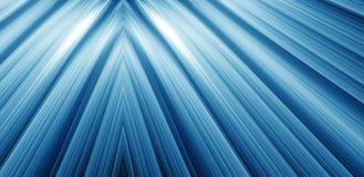 blått djupt Arkivfoto