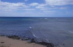 blått djupt hav Fotografering för Bildbyråer