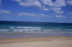 blått djupt hav Royaltyfria Bilder