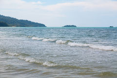 blått djupt hav Royaltyfri Foto