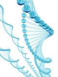 blått dna-exponeringsglas royaltyfri illustrationer