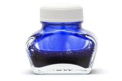 blått färgpulver fotografering för bildbyråer