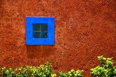 blått fönster Royaltyfria Foton