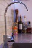 blått för kopplingston för dof lågt vatten Royaltyfria Bilder