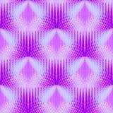 Blått för pastell för vanlig sömlös triangelmodell skiftade rosa violetta purpurfärgade royaltyfri illustrationer