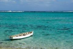 blått fartyghav Royaltyfri Fotografi