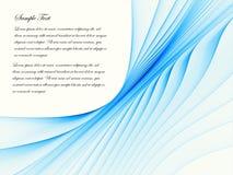 blått flöde Royaltyfri Bild
