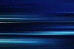 Blått flytta sig för ljus som och för band är snabbt Royaltyfria Foton