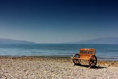 Kust- strand Fotografering för Bildbyråer