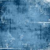 blått gammalt papper royaltyfri illustrationer