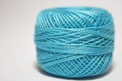 blått garn Royaltyfria Foton