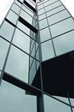 blått glass torn Arkivfoto