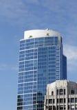 Blått Glass torn i Seattle Arkivfoton