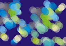 blått glitter Arkivfoton