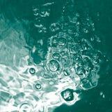 blått grönt vatten för fs Fotografering för Bildbyråer
