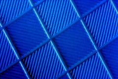 blått gummi Arkivfoto